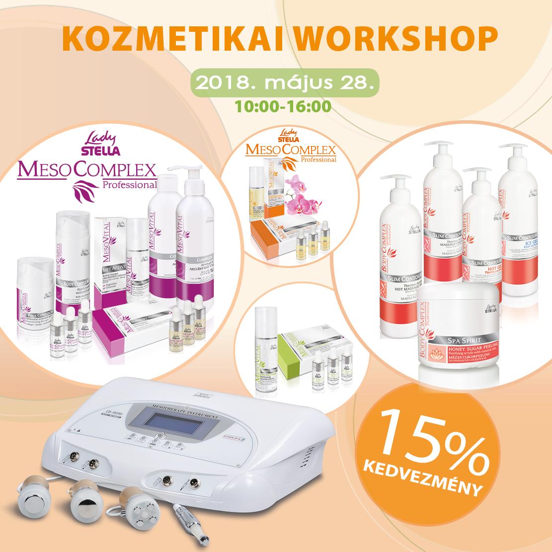 Kozmetikai workshop - tavaszi bőrmegújító kezelések - Május 28 bf1b3c9502